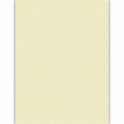 Picture of Ivory 80lb 8.5X11 Embossed Royal Sundance Linen Cover - 250 sheets
